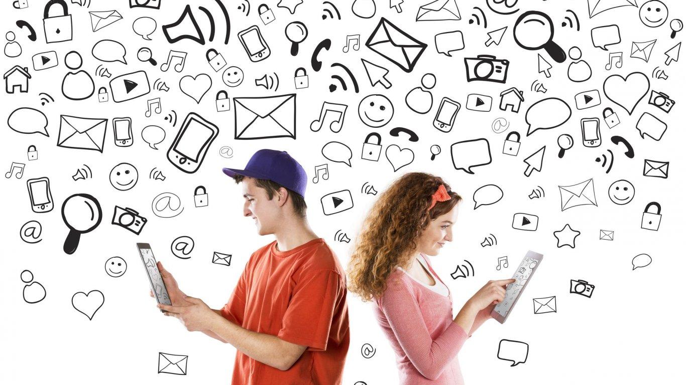 Видео влияние социальных сетей 10